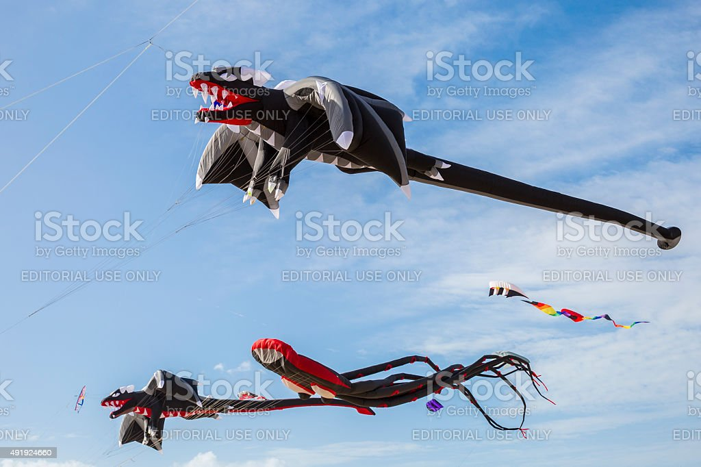 Sunfest Kite Festival In Ocean City Maryland 2015 stock photo