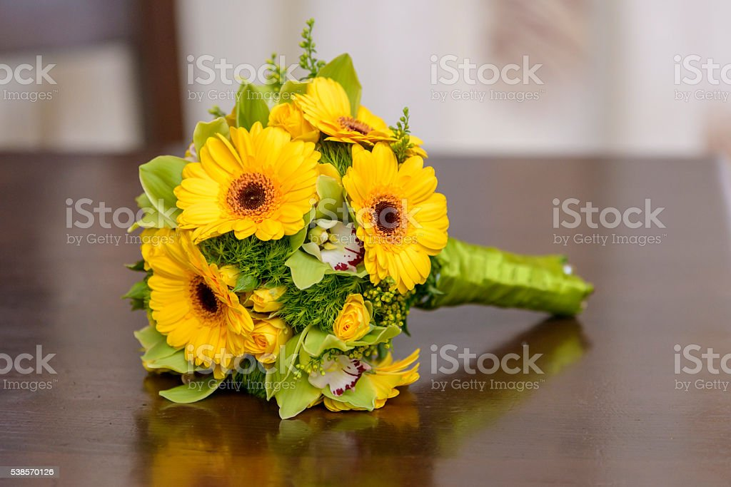 Sunflower bouquet royalty-free stock photo