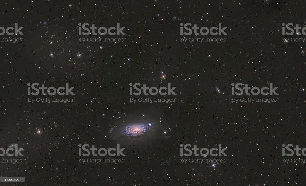 M63 Sunflower Galaxy stock photo