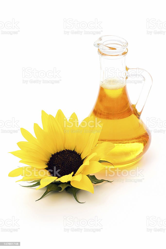 sunflower oil royalty-free stock photo