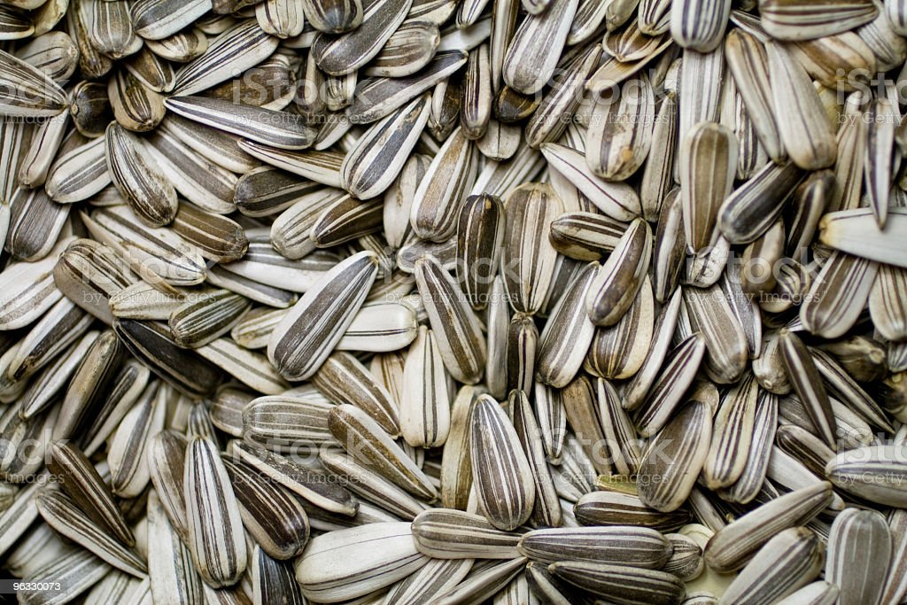 Sunflower seeds in a bowl royalty-free stock photo