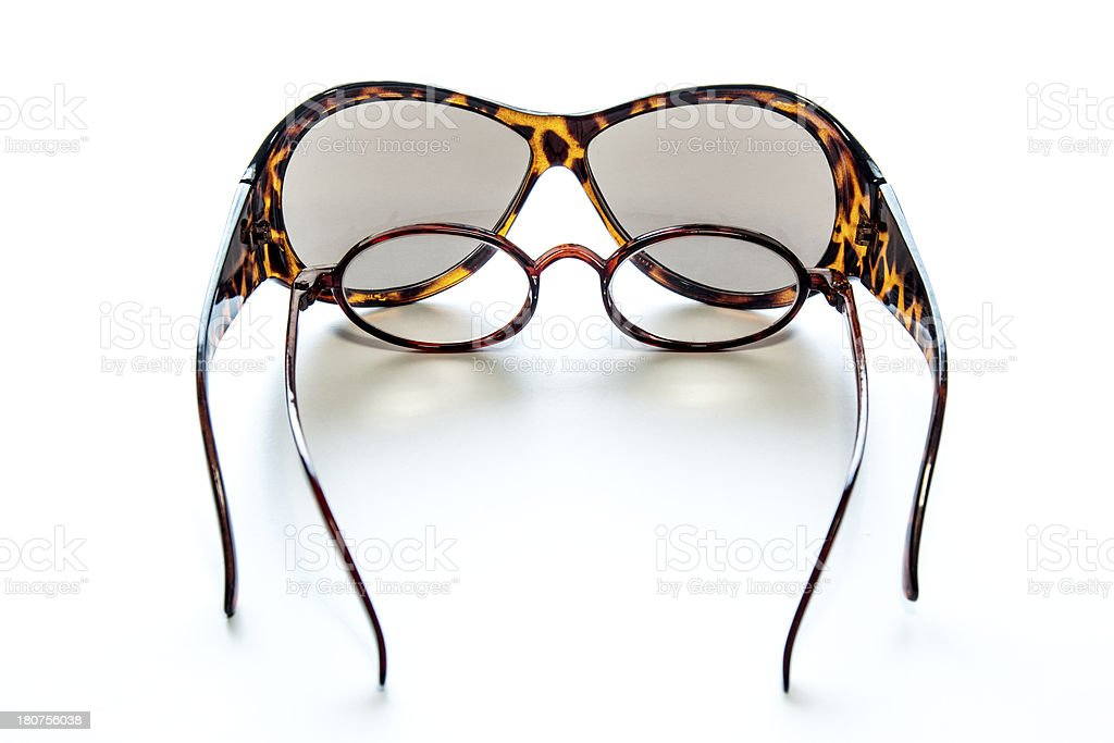 Sunglasses and Reading glasses royalty-free stock photo