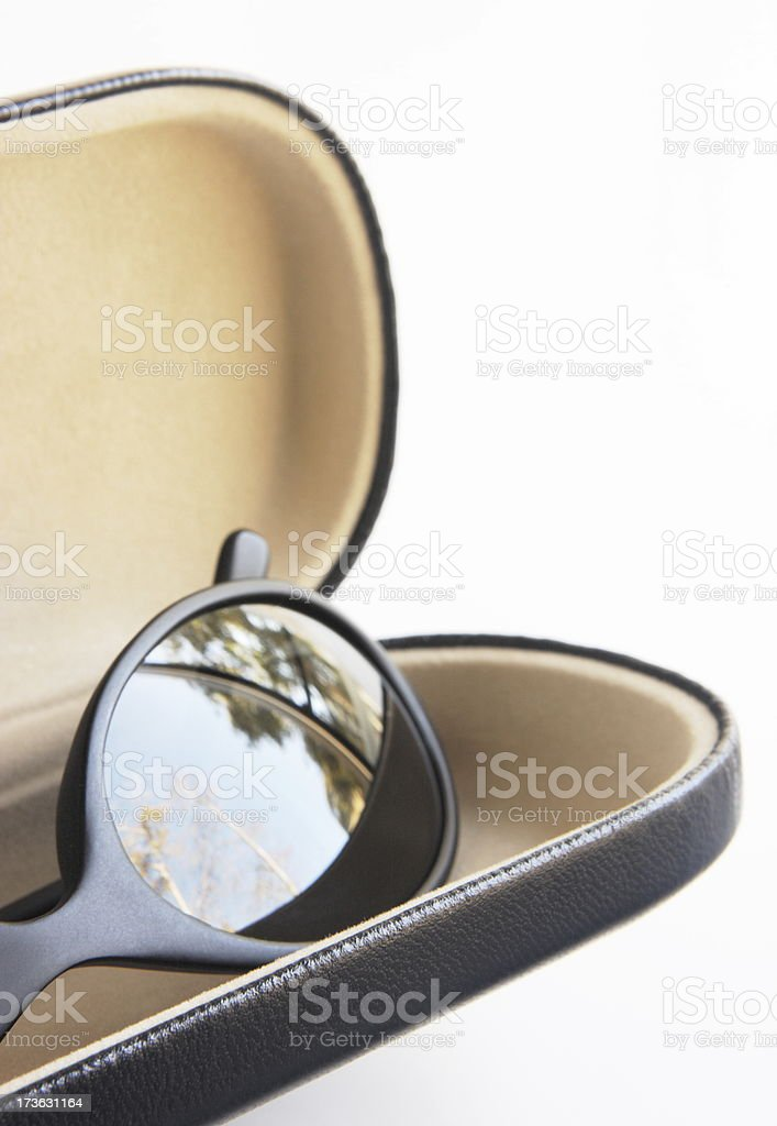 Sunglasses Fashion Spectacle Case stock photo
