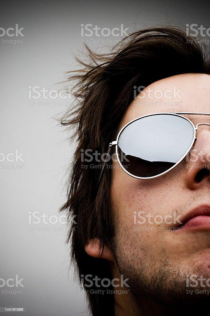 Sunglasses Guy royalty-free stock photo