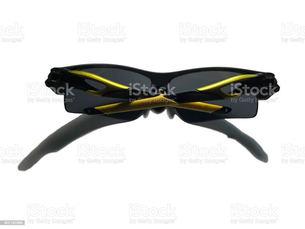 sunglasses isolate on white background stock photo