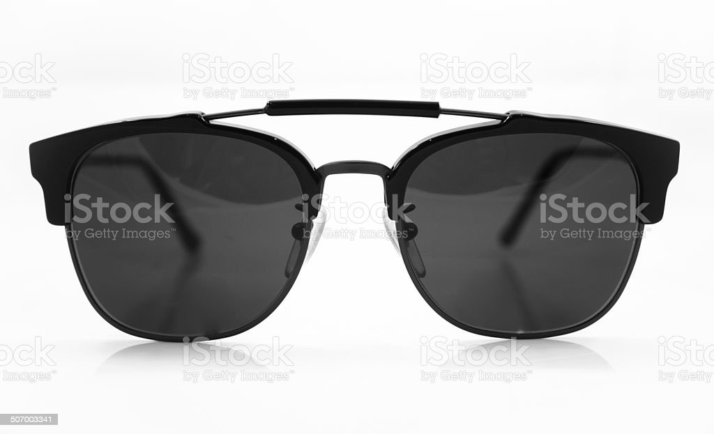 Sunglasses isolated on white background royalty-free stock photo