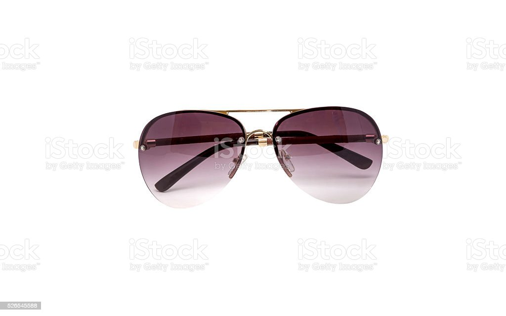 Sunglasses isolated on white stock photo