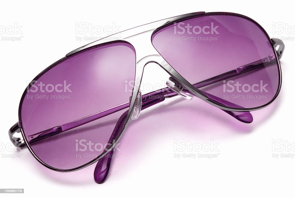 Sunglasses (Top View) royalty-free stock photo