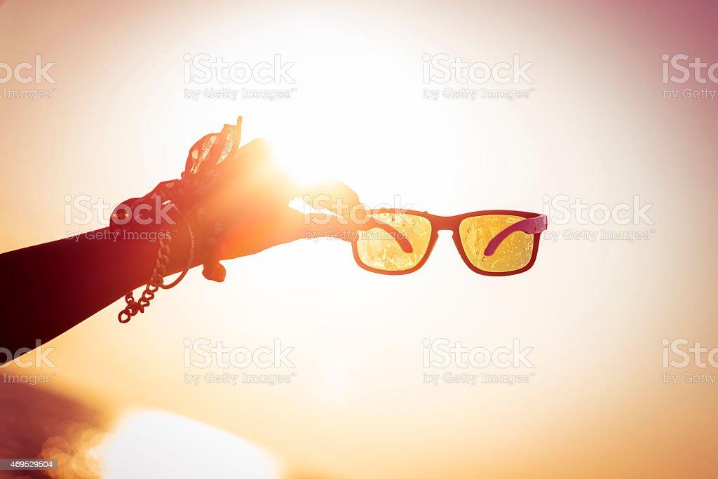 Sunglasses stock photo