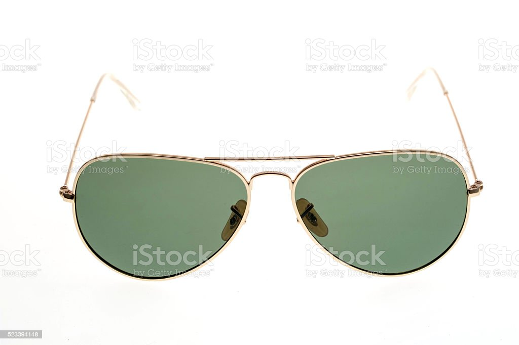 sunglasses set isolated on white background stock photo