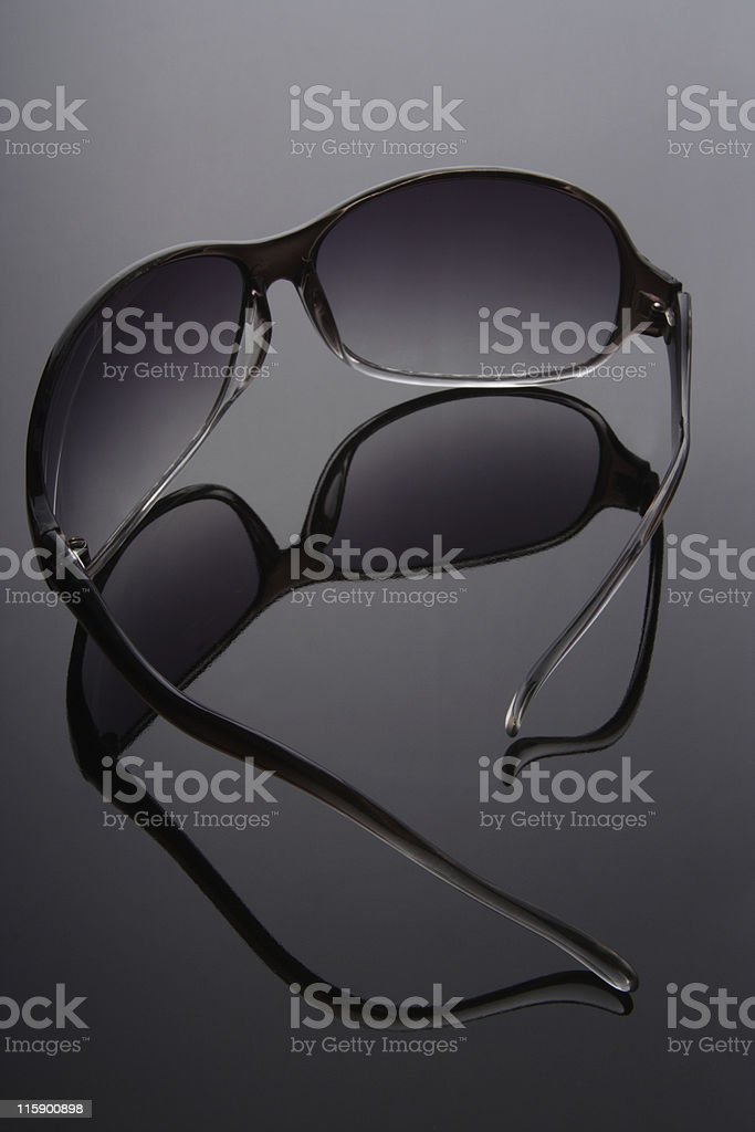 Sunglasses/shade stock photo