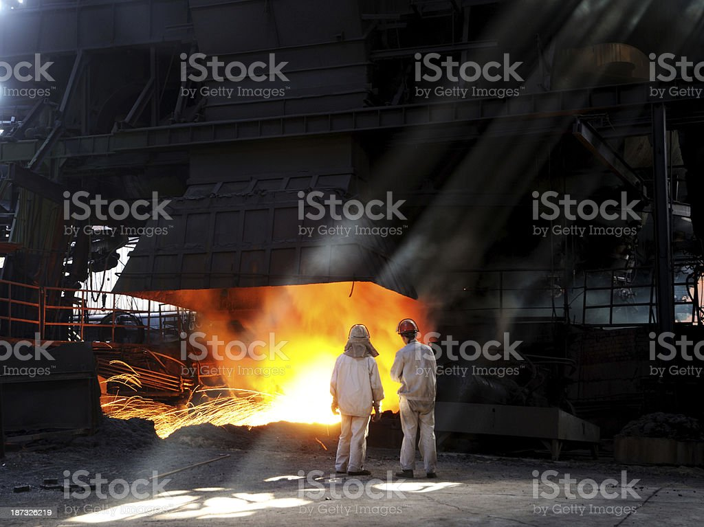 Sunlight and fire royalty-free stock photo