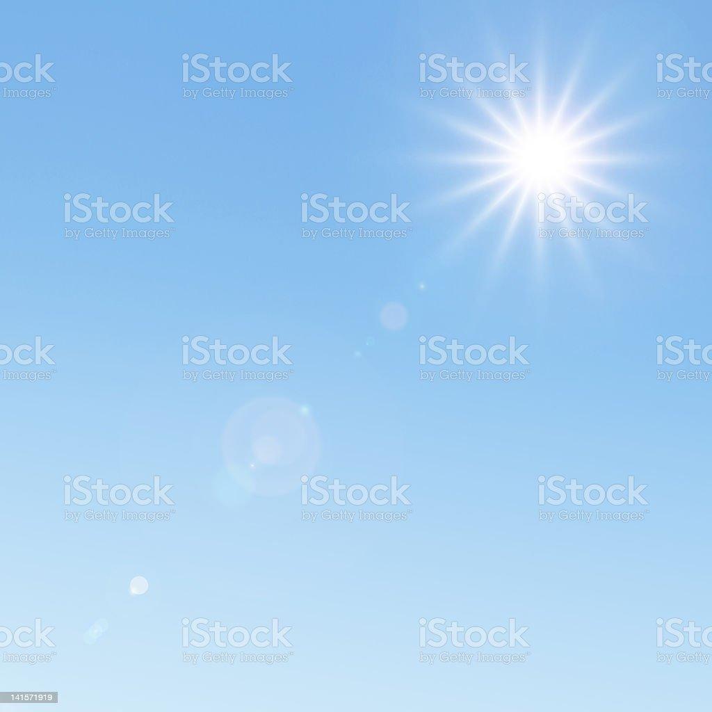 Sunlight background royalty-free stock photo