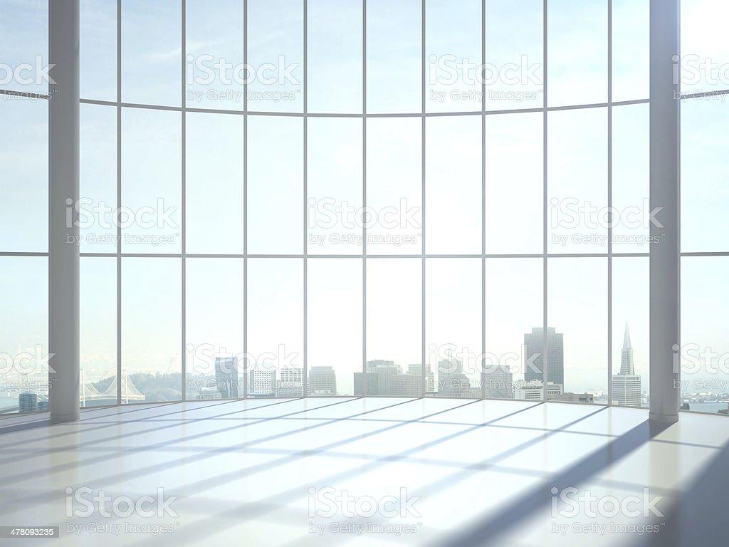 sunlight interior royalty-free stock photo