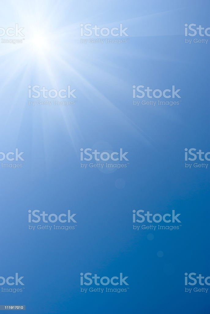 Sunlight stock photo