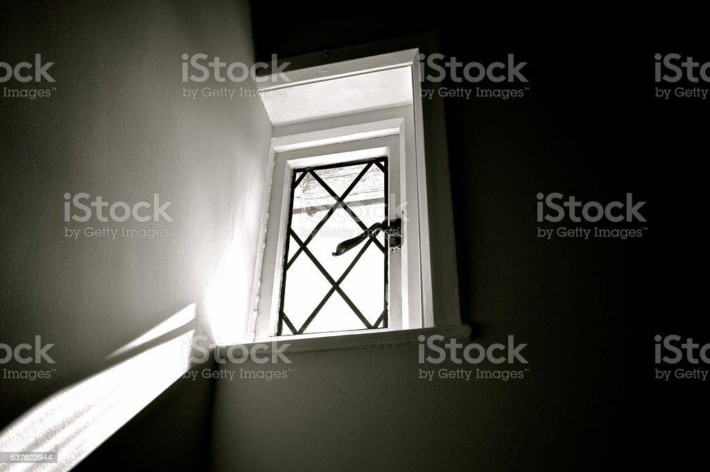 Sunlight Through A Window stock photo