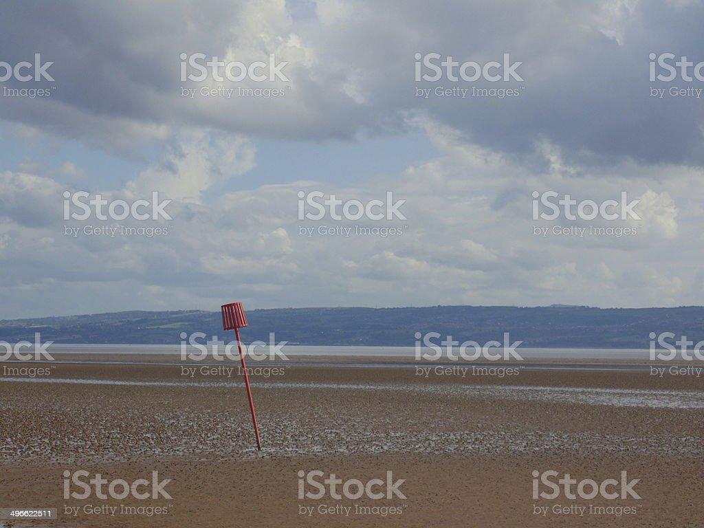 Sunlit Estuary royalty-free stock photo