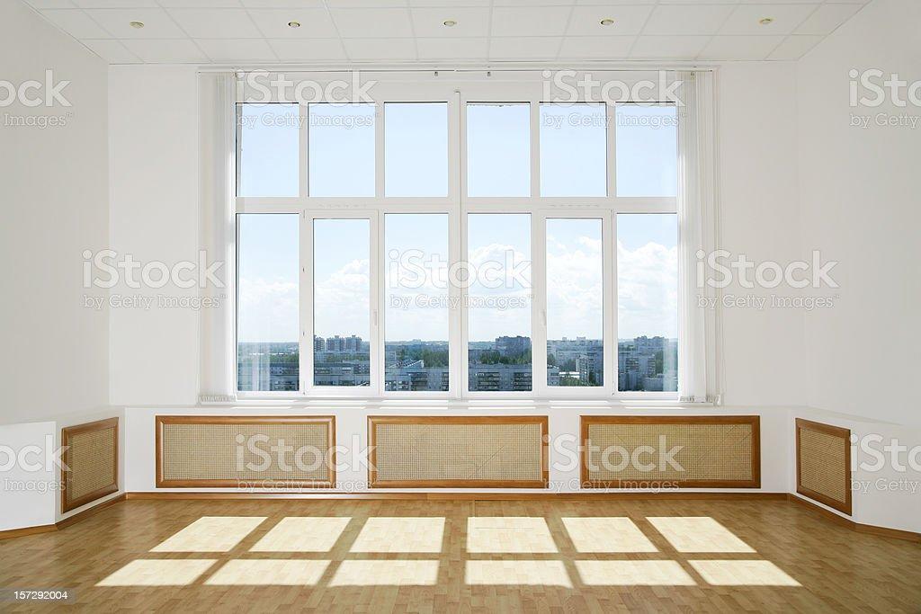 Sunlit Modern Interior royalty-free stock photo