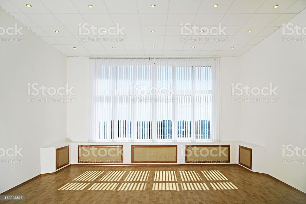 Sunlit Modern Interior royalty-free stock photo