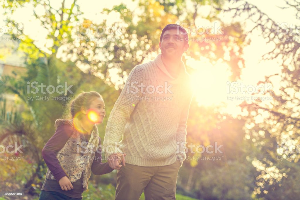 Sunny autumn day royalty-free stock photo