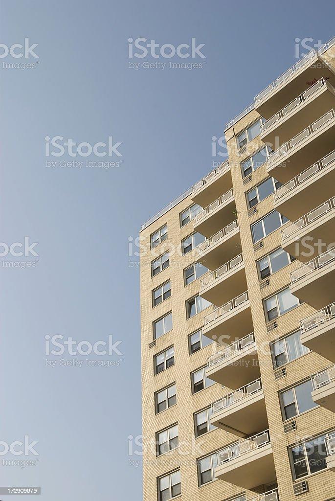 Sunny Balconies royalty-free stock photo