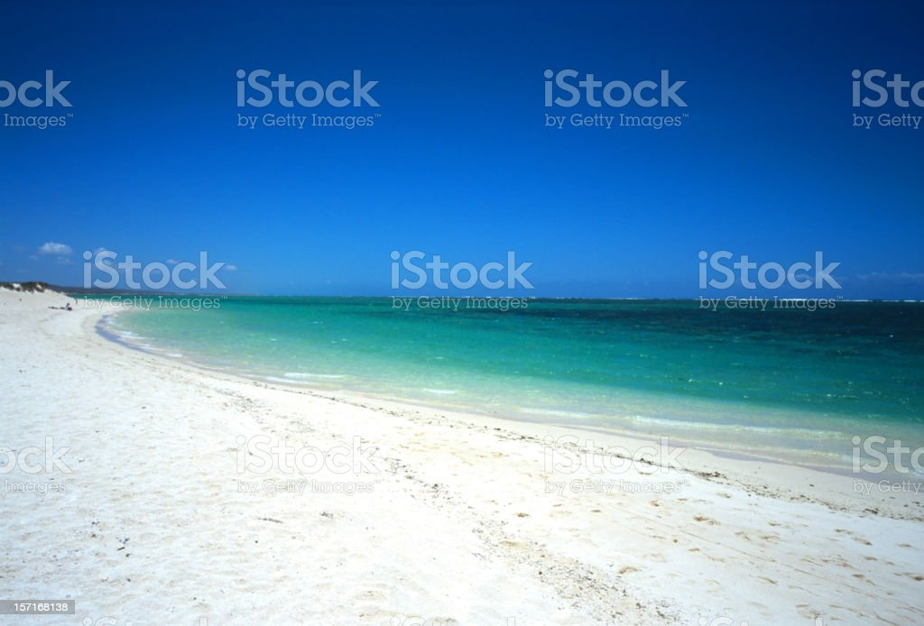 sunny beach royalty-free stock photo