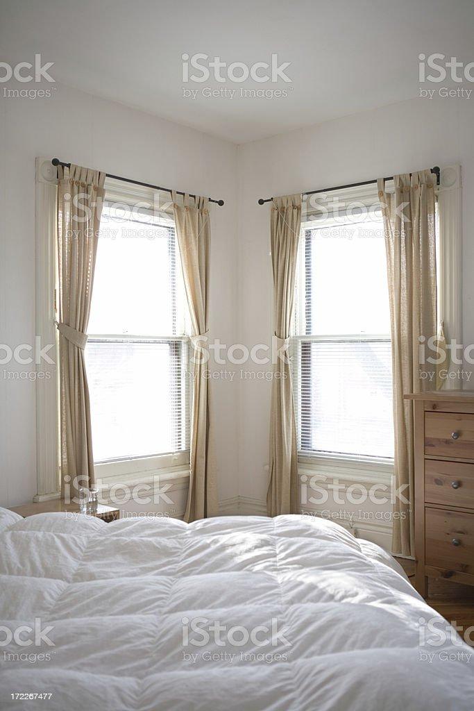 Sunny Bedroom royalty-free stock photo