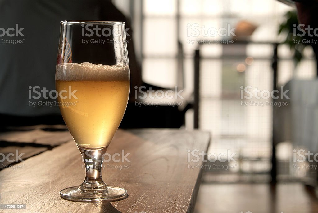 Sunny Beer royalty-free stock photo