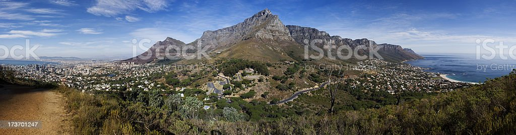 Sunny Cape Town stock photo