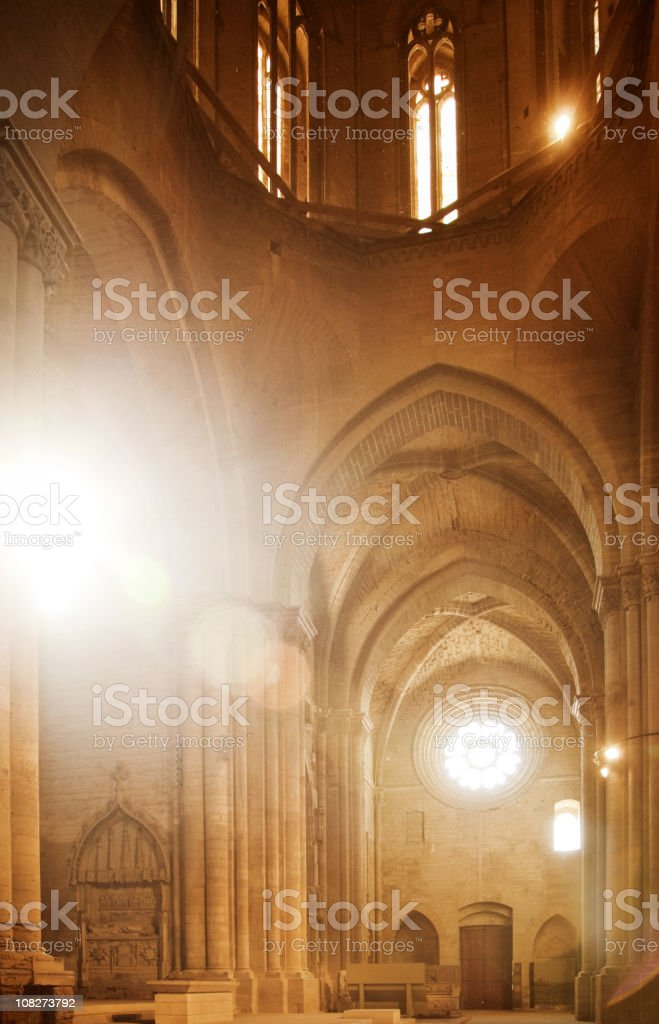 Sunny Cathedral stock photo