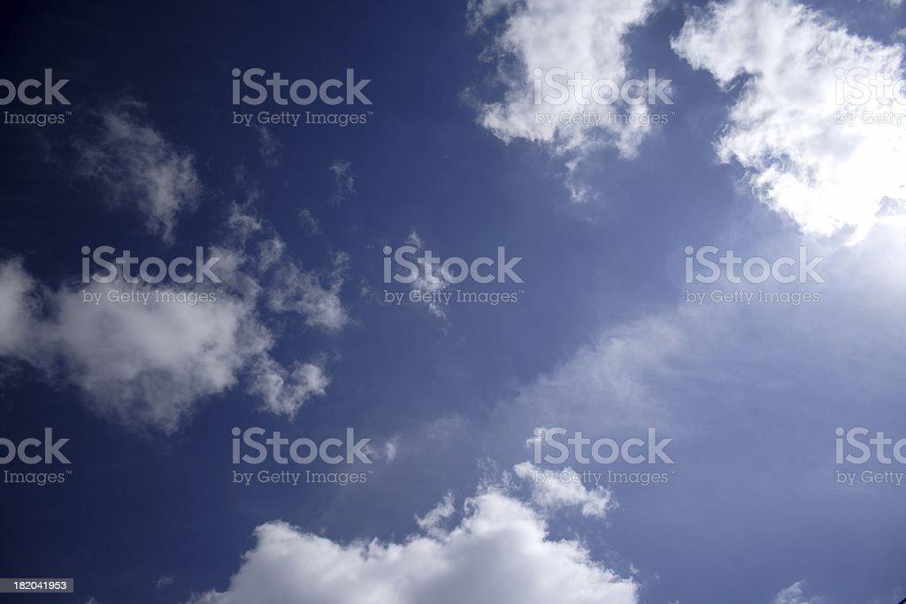 Sunny Day Horizontal royalty-free stock photo