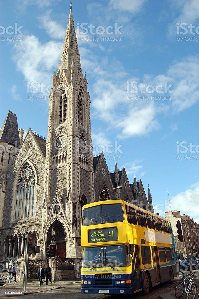 Sunny Dublin. Ireland royalty-free stock photo