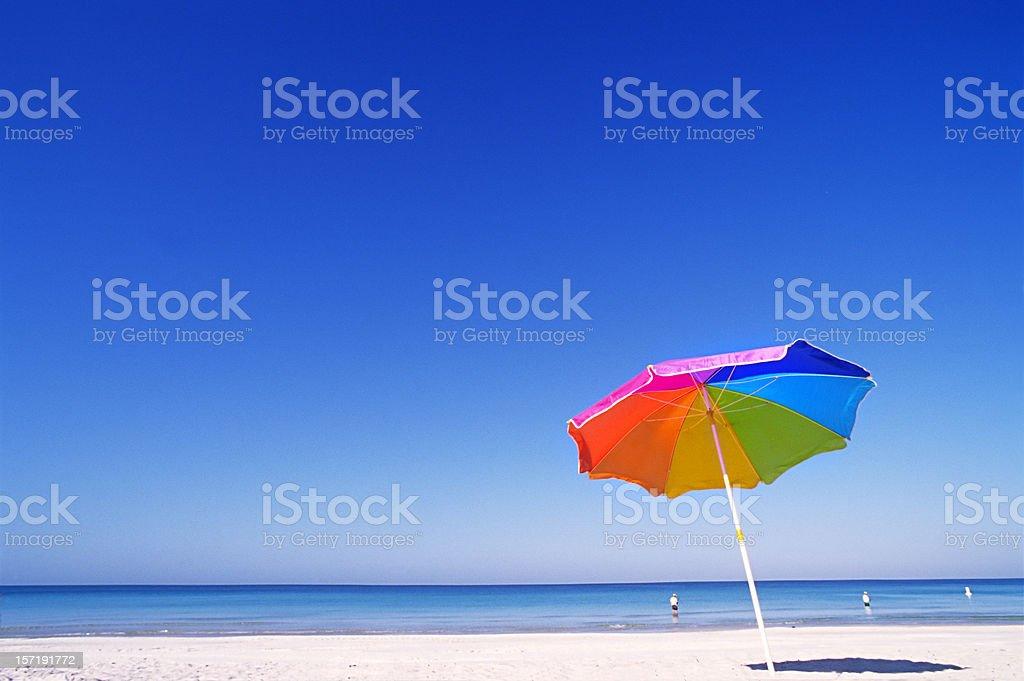 Sunny Gulf of Mexico stock photo