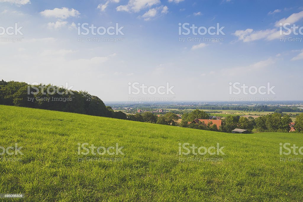 Sunny Hills stock photo