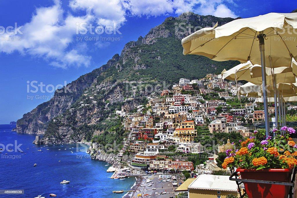 Sunny Italy - Positano royalty-free stock photo