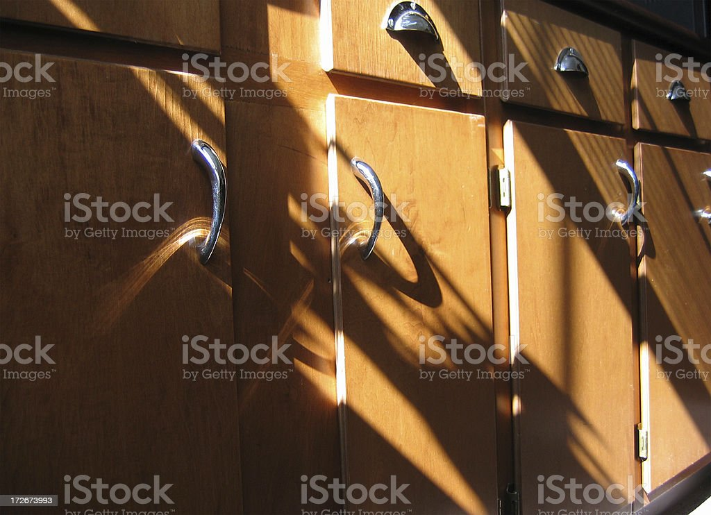 Sunny Kitchen, View 2 royalty-free stock photo