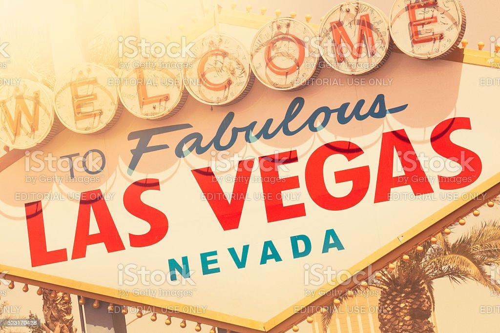Sunny Las Vegas stock photo