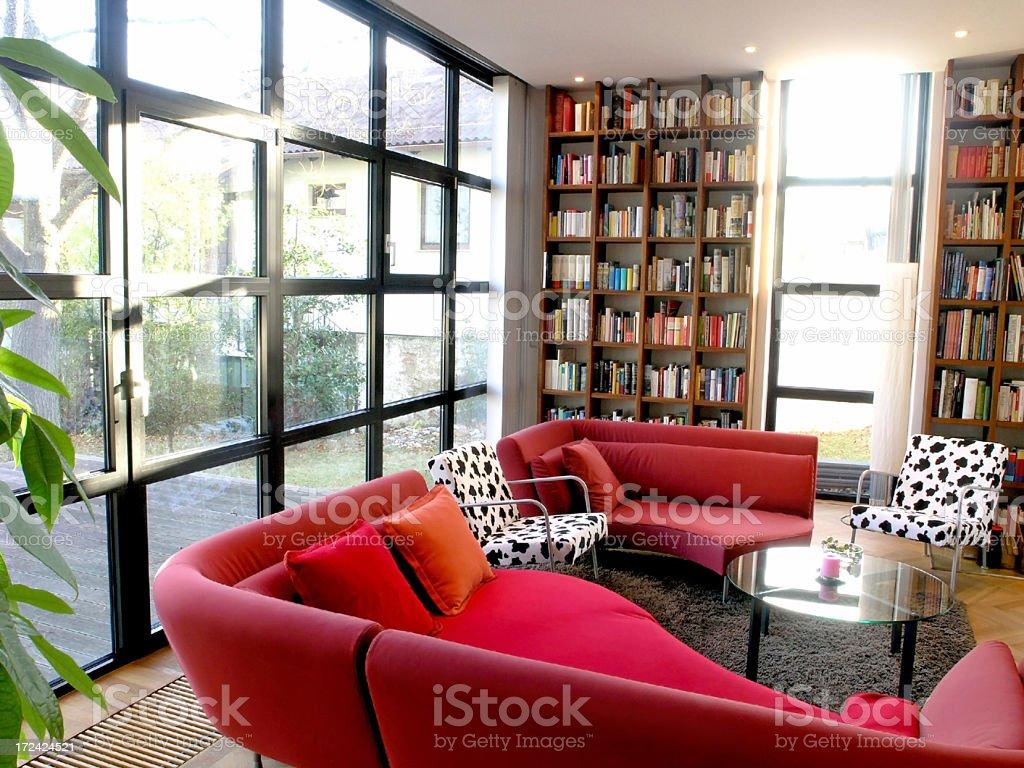 sunny livingroom royalty-free stock photo