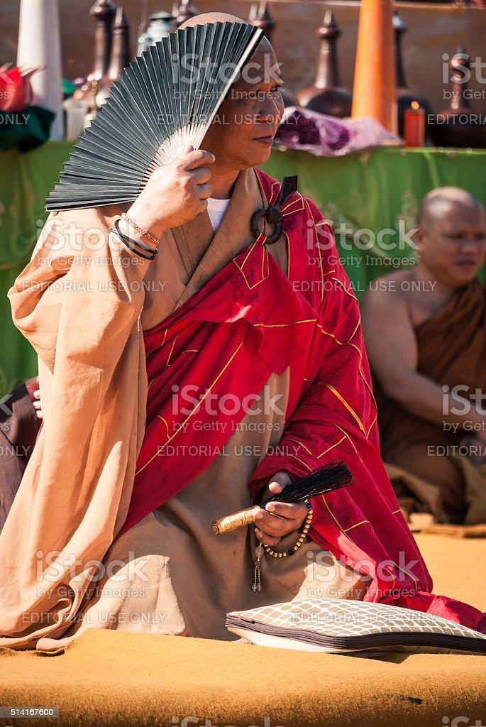 Sunny Monk stock photo