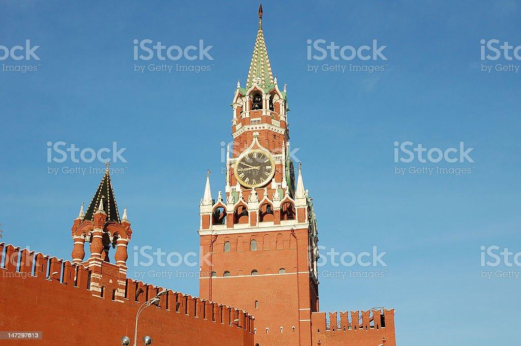 Sunny Moscow stock photo