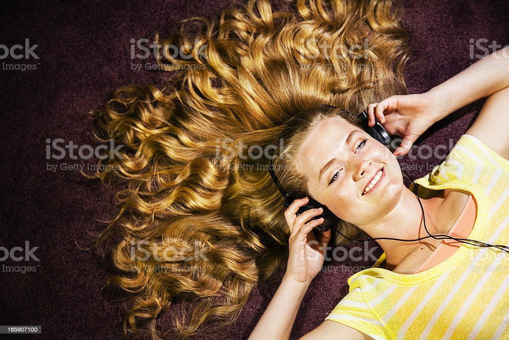 Sunny Music Disposition stock photo