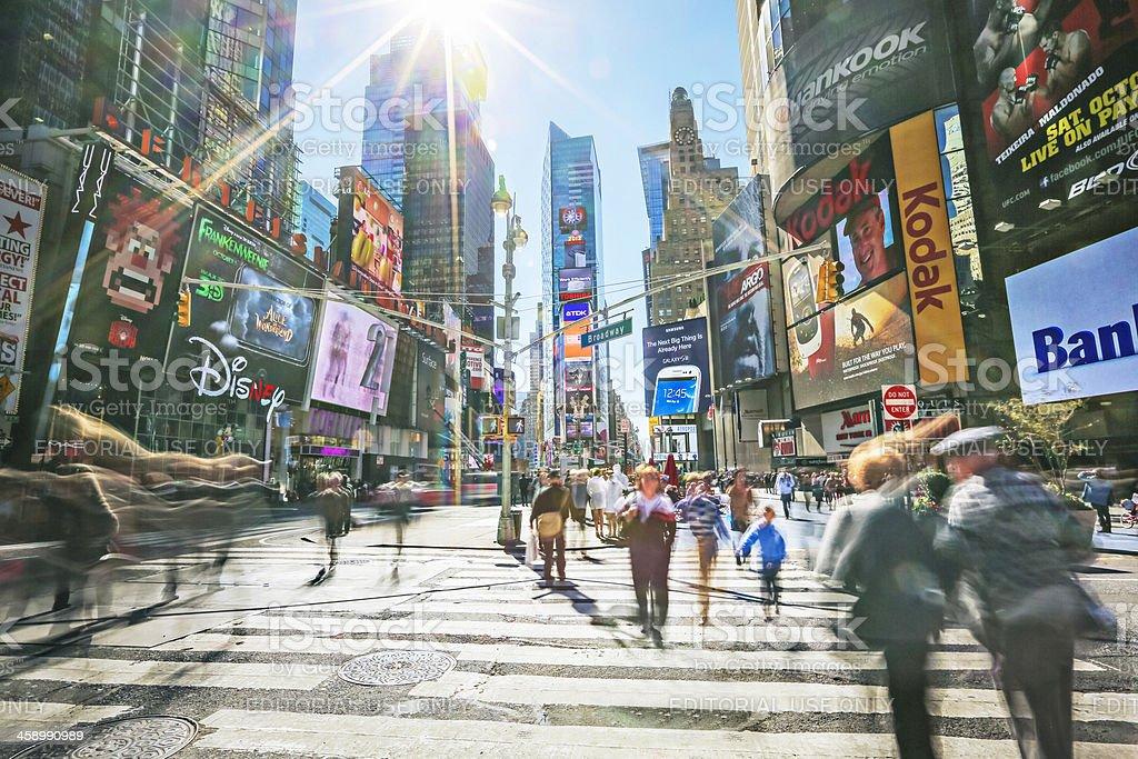 Sunny New York royalty-free stock photo