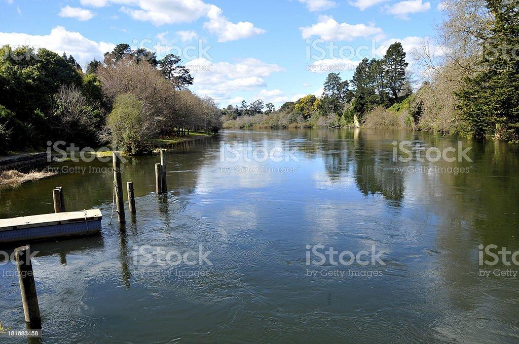 Sunny River Day royalty-free stock photo