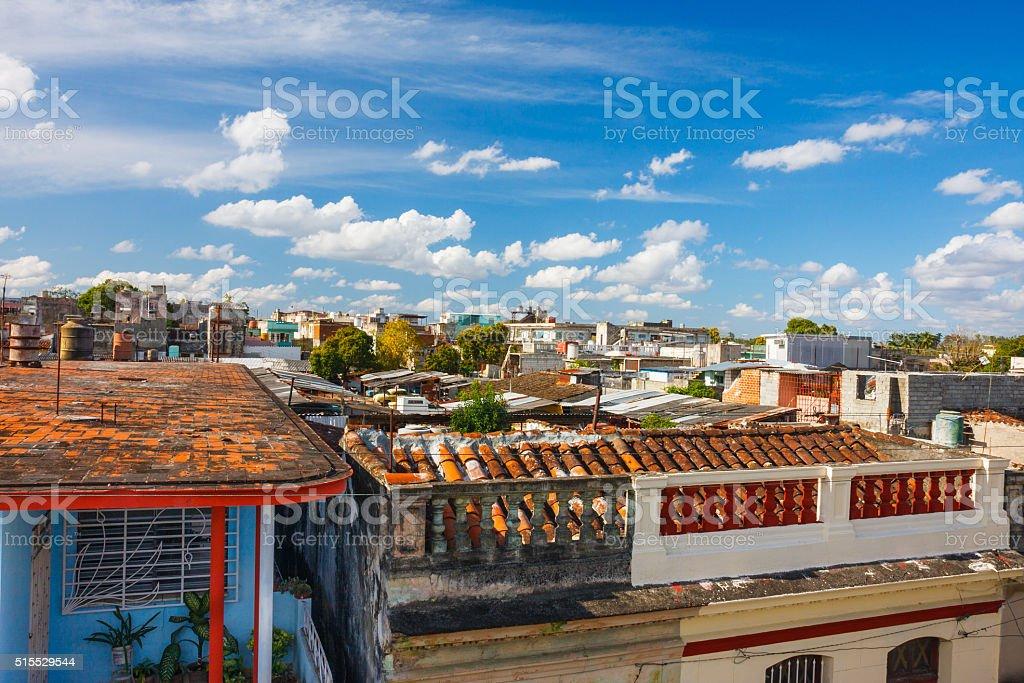 Sunny Santa Clara, Cuba stock photo