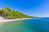 Sunny sea beach