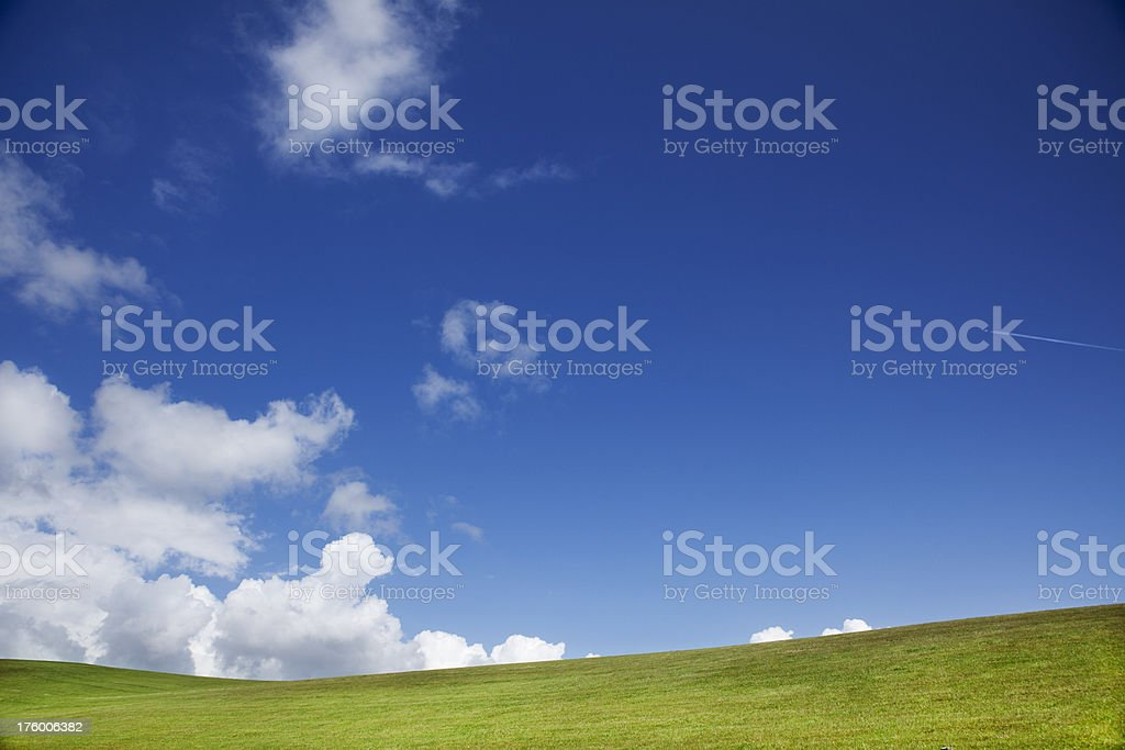 Sunny skies royalty-free stock photo