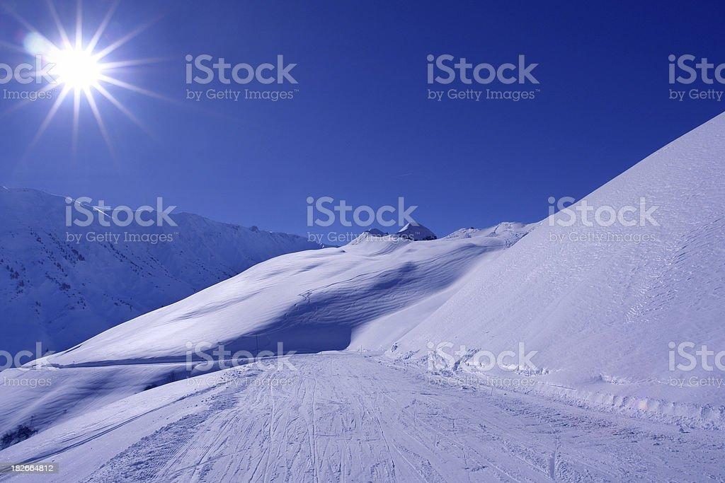 Sunny Skilane stock photo