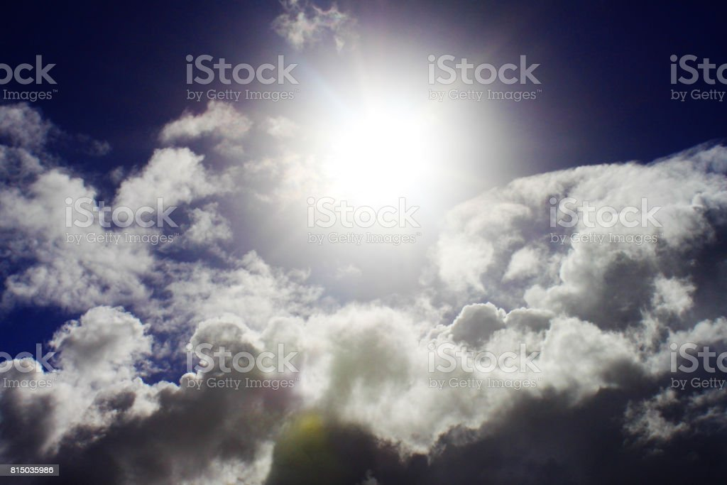 Sunny Sky stock photo