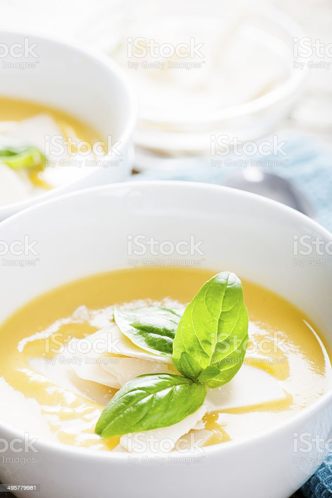 Sunny Soup stock photo