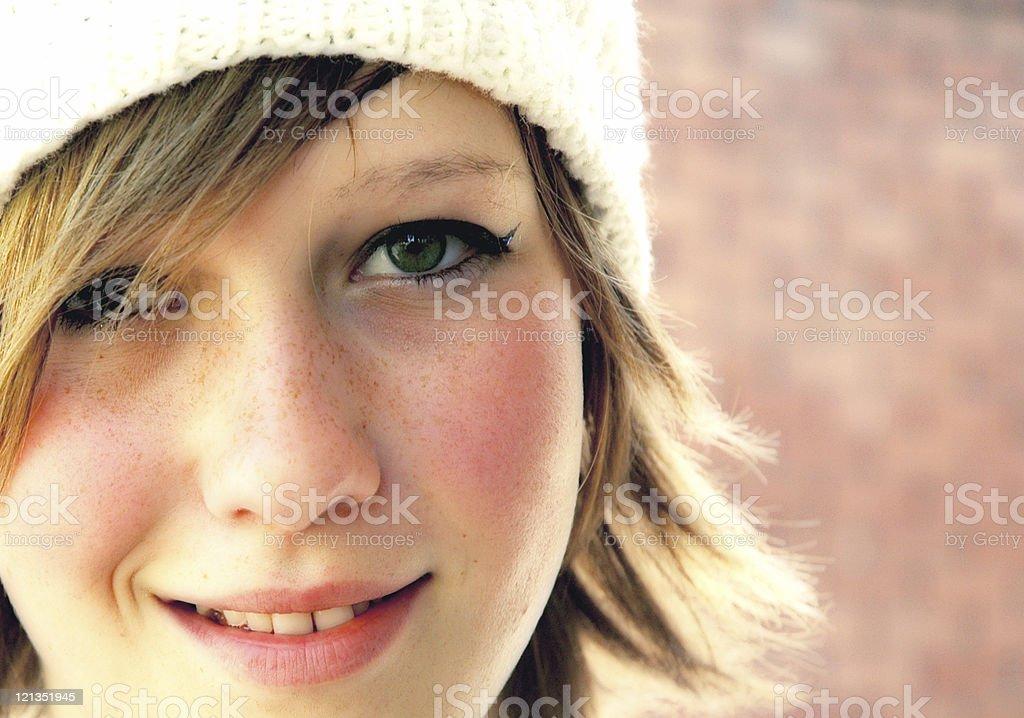 Sunny Teenage Portrait royalty-free stock photo